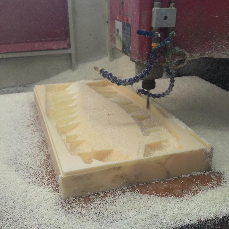 ABS雕刻加工车床